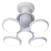 40W LED Basement Lights E27 LED Light Bulb Ceiling Lighting Daylight Lamps with 4 Adjustable Panels