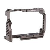 Andoer Camera Cage Video Rig aus Aluminiumlegierung Ersatz für Sony A7R III / A7 II / A7III
