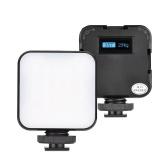 Andoer ST60RGB Mini-RGB-Videoleuchte für Live-Streaming-Videokonferenz Vlog-Videoaufnahmen Make-up Selfie Produktfotografie Portrait