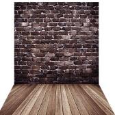 1.5 * 2m Gran fondo de fotografía fondo telón de fondo clásico de madera piso de madera para el estudio Fotógrafo profesional