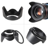 Andoer 58mm Filter Kit (UV + CPL + FLD) + Nylon tragen Beutel + Objektivdeckel + Cap Linsenhalter + Gegenlichtblende + Objektiv Reinigungstuch