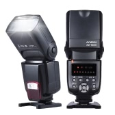 Second Hand Andoer AD-560Ⅱ Universal Flash Speedlite On-camera Flash GN50 w/ Adjustable LED Fill Light for Canon Nikon Olympus Pentax DSLR Cameras