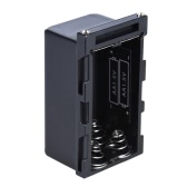 NP-F750 4pcs AA Batterie Battery Case Power Holder comme NP-F750 Série Batterie pour LED Video Light Panel / Moniteur