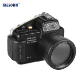 MEIKON Camera Waterproof Diving Housing Protective Case Cover Underwater 40m/ 130ft for Sony NEX-5(18-55MM)
