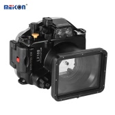 Kamera wodoszczelna MEIKON Obudowa do nurkowania Pokrywa obudowy ochronnej Podwodny 40m / 130ft dla Panasonic Lumix LX100