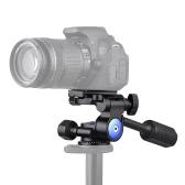 Andoer A-40 Caminho de 3 caminhos Cabeça de vídeo Liga de alumínio Cabeça de amortecimento panorâmico panorâmico a 360 ° para Canon Nikon Sony para tripé Monopod Slider Max. Carregue 5kg / 11Lbs