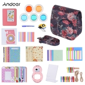 Andoer 14 in 1 Accessoires Kit pour Fujifilm Instax Mini 9/8/8 + / 8s