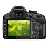 Película PULUZ Láminas protectoras de pantalla Película de protección de policarbonato Protector de pantalla de cristal templado para Canon Nikon Panasonic FinePix Cámara digital Olympus Accesorios para Nikon Nikon D3200 / D3300
