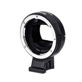Commlite CM-EF-E HS Electric High Speed Lens Mount Adapter Ring AF Auto Focus for Canon EF/ EF-S Lens to E-Mount Camera for Sony A9/ A7R2/ A7M2/ A6500/ A6300/ A7/ A6000/ A5100/ NEX-7/ NEX-5N/ NEX-5/ NEX-3C with CDAF PDAF Switch USB Firmware Update