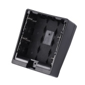8pcs AA Battery Pack Case Holder Replace F950 / F750 / F550 NP-F Series para LED Video Light Panel / Monitor / DSLR Camera