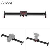 Andoer 50cm/20inch Aluminum Alloy Camera Track Slider