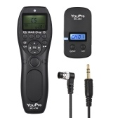 YouPro MC-292 DC0 2.4G Wireless Remote Control LCD Timer Shutter Release Transmitter Receiver 32 Channels for Nikon D5 D4S D4 D3S D3 D2 D1 D800 D810 D810A D800E D700 D300S D300 D500 for Fujifilm Kodak DSLR Camera
