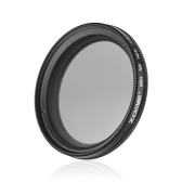 ZOMEI 40.5mm Ultra Slim Variabler Fader ND2-400 Neutral Density ND Filter Einstellbar ND2 ND4 ND8 ND16 ND32 bis ND400 für Nikon J1 V1 für Olympus EP-1 EP-2