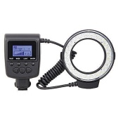 Macro LED Round Flash Bundle with 8 Adapter Rings