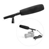 Professional Aluminium Alloy Condenser Shotgun Microphone