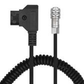 Andoer D-Tap to BMPCC 4K Cavo di alimentazione con blocco a 2 pin