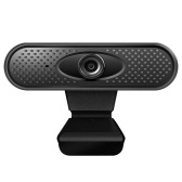 USB2.0 High-definition Web Camera Manual Focus Clip Base for Desktop PC Laptop Computer Video Recording (720P)