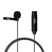 COMICA CVM-V02O Microfono lavalier omnidirezionale con risvolto Microfono a condensatore 1.8M