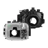 Sea frogs Underwater Diving Housing Waterproof Camera Protective Case 40M/130FT Depth Compatible with Canon Powershot G1X Mark Ⅲ