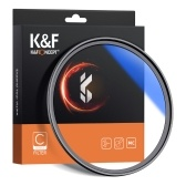 K&F CONCEPT 62mm Ultra Slim Multi Coated MC UV HD Lens Filter