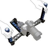 Schultermontage Schulter Rig Stabilisator Film Film Video Making System Kit