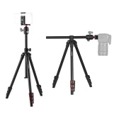 Andoer Q160H Portable Camera Tripod Horizontal Mount Professional Travel Tripod