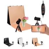 NiceFoto 40 * 40cm / 16 * 16in Kit de tente légère de photographie de bureau portable