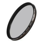 Filtre polarisant circulaire PRO TANLE 82mm CPL 22 couches Super Multi enduit avec support de stockage pour objectif de caméra