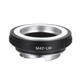 Andoer M42 -LM Kamera Objektiv Adapterring Ersatz für M42 Schraubobjektiv an Leica Kamera M240 M240P M262 M3 M2 M1 M4 M5 M6 MP M7 M8 M9 M9-P M Monochrom ME M MP M10 MA