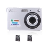 """Compact HD Digital Camera Video Camcorder 18MP 2.7"""" TFT 8X Zoom Smile Capture Anti-shake with 2pcs Batteries Christmas Festival Gift"""