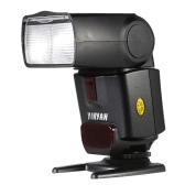 CY-450M Speedlite GN36 Wireless Sync Flash M/A/S/SD Bounce Flash Wide-angle Diffuser for Canon EOS 550D 600D 650D 700D/Rebel T2i T3i T4i T5i for Nikon D5500 D5200 D3200 D5300 D3300 for Sony(Alpha) Pentax Olympus Panasonic Camera
