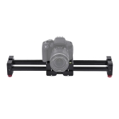 Retráctil cámara Video Slider Dolly 52cm pista estabilizador 104cm real desplazamiento distancia del carril de carga hasta 8kg para Canon Nikon Sony réflex digitales videocámaras