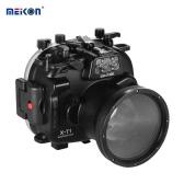 MEIKON impermeable cámara de buceo de vivienda de protección de la cubierta de la caja 40m / 130ft submarino para Fujifilm Fuji X-T1