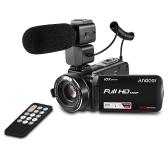 Videocámara con cámara de video digital Full HD Andoer HDV-Z82 1080P