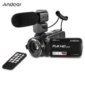 Andoer HDV-Z82 1080P Full HD Digitaler Videokamera Camcorder