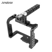 Video Camera Cage Stabilizer Aluminum Alloy for Panasonic GH5/GH4 DSLR to Mount Mic Monitor LED Light Film Making Accessories