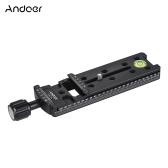 Andoer FNR-140 140mm Quick Release Plaque Trépied Nodal