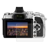 PULUZカメラスクリーン保護フィルムポリカーボネート保護フィルムキズ防止ソニーニコンパナソニックFinePixオリンパスデジタルカメラのための強化ガラスのスクリーンプロテクターオリンパスEM1のためのアクセサリー