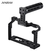 Andoer Aluminum Alloy Camera Video Cage Top Handle Kit Film Making System for Fujifilm XT2