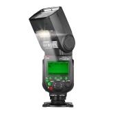 YONGNUO YN968C Flash inalámbrico TTL Speedlite 1 / 8000s HSS Luz LED incorporada 5600K para cámaras DSLR de Canon compatibles con el sistema inalámbrico YN622C YN560