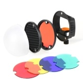 Kit d'accessoires pour modificateur TRIOPO Speedlite Flash Light