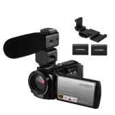 Andoer HDR-AE8 4K WiFi Videocamera digitale Videocamera Videoregistratore DV