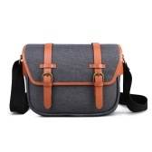 K&F CONCEPT Camera Shoulder Bag Messenger Bag Removable Divider