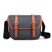 K&F CONCEPT Camera Shoulder Bag Messenger Bag Removível Divisor