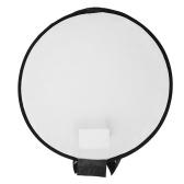 Portable 400mm Round Softbox Speedlight Round Flash Light Foldable Soft Flash Light Diffuser