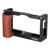 Andoer Cage de caméra en alliage d'aluminium Cage de protection Vlog Cage
