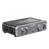 Interface de áudio USB do mixer de áudio de dois canais BOYA BY-AM1