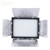 Andoer W300 Video Photography Light Lamp Panel 300 LEDs 6000K for Canon Nikon Pentax Sony (Alpha) Olympus Fujifilm DSLR Camera DV Camcorder