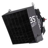 Aputure EZ ボックス + ポータブル撮影スタジオ ディフューザー布ソフト生地グリッド キット Amaran アル 528 ・ HR 672 S/C LED ビデオライト w/キャリング バッグ