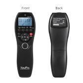 YouPro VT-2 Wireless Fernbedienung Kommandant LCD-Timer-Auslöser Video Sender-Empfänger für Sony a7 A7R A7S a7 II A7S II A7R II a58 a6300 RX100 Serie Camcorder